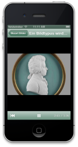 Mozarteum App von der Eyeled GmbH.