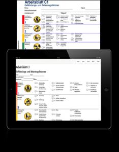 Gefährdungspotential App