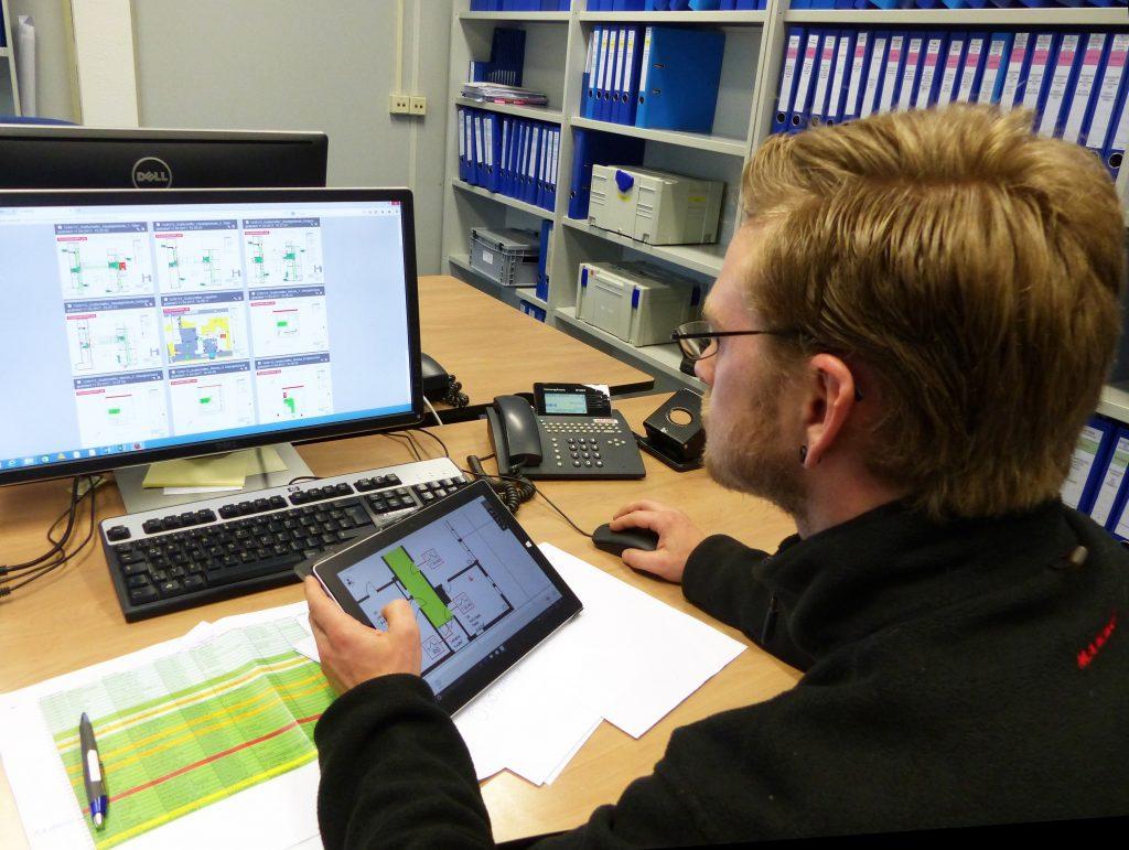 Die Planung von Schadstoffbeprobungen sowie die Auswertung der erfassten Daten inklusive Berichtserstellung werden durch das mobiPlan-Portal effizient unterstützt. (Copyright: © Tauw GmbH)