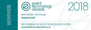 Event Technology Award 2018 für Messe-App in Kategorie ``Best Exhibition Technology``