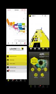 Eyeled eyeGuide classic für Messen und Kongresse Funktionen App Referenzen