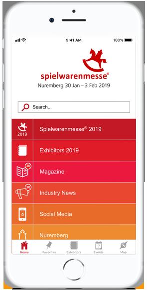 Spielwarenmesse: Messe-App 2019 basierend auf eyeGuide