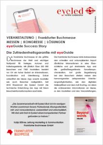 Success Story Frankfurter Buchmesse App 2019 mit eyeGuide