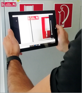 Dokumentationslösung mobiPlan App im Brandschutzmanagement.