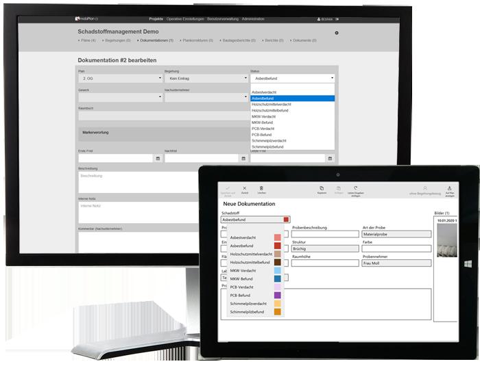 mobiPlan: Portal und Tablet-App