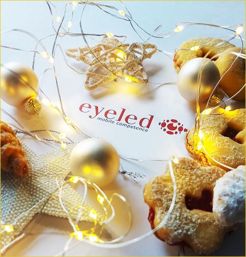 Festtags- und Neujahrsgrüße der Eyeled GmbH 2020