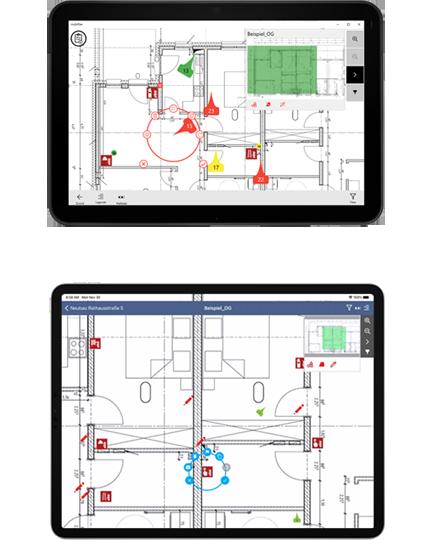 mobiPlan-App: Windows und iPad