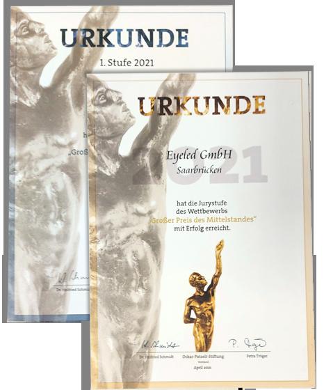 Preis Mittelstand Eyeled GmbH Juryliste