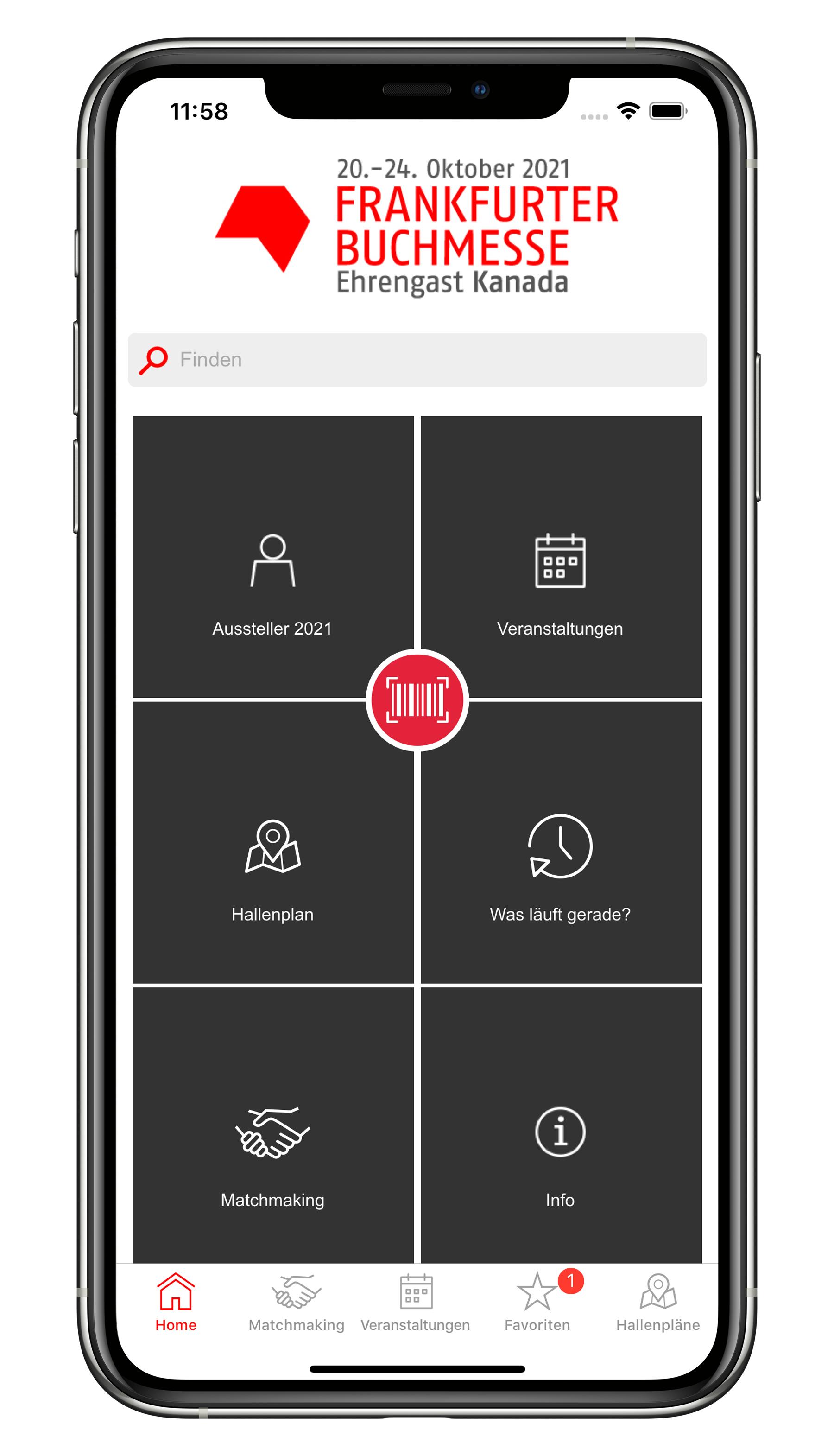 Frankfurter Buchmesse App 2021 und digitales Matchmaking